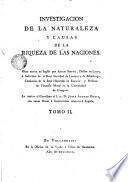 Investigacion de la naturaleza y causas de la riqueza de las naciones, 2