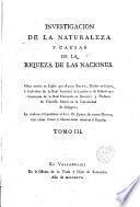 Investigacion de la naturaleza y causas de la riqueza de las naciones, 3