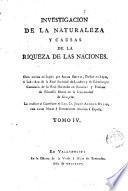 Investigacion de la naturaleza y causas de la riqueza de las naciones, 4