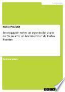 Investigación sobre un aspecto del duelo en La muerte de Artemio Cruz de Carlos Fuentes