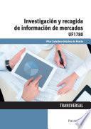 Investigación y recogida de información de mercados