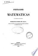 Investigaciones matemáticas