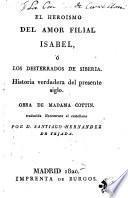 Isabel, ó, Los desterrados de Siberia