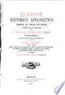 Isagoge histórico apologético general de todas las Indias y especial de la provincia Sn. Vicente Ferrer de Chiapa y Goathemala de el orden de Predicadores