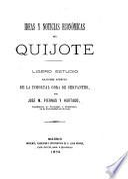 Iseas y noticias económicas del Quijote, ligero estudio de la obra de Cervantes
