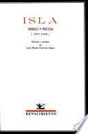 Isla: Verso y prosa (1937-1940)