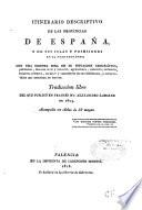 Itinerario descriptivo de las provincias de españa