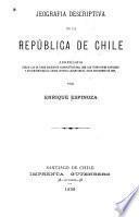 Jeografia descriptiva de la República de Chile