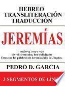 Jeremías: Hebreo Transliteración Traducción