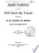 Jochs florals de Sant Cugat del Valles