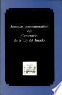 Jornadas conmemorativas del centenario de la Ley del jurado