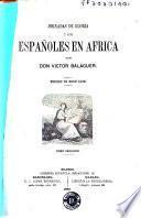 Jornadas de gloria, ó, Los españoles en Àfrica [sic]
