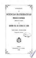 Jornal de sciencias mathematicas, physicas, e naturaes