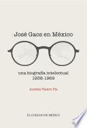 José Gaos en México: