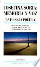 Josefina Soria, memoria y voz