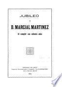 Jubileo de D. Marcial Martinez al cumplir sus ochenta años