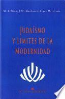 Judaísmo y límites de la modernidad