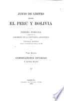Juicio de límites entre el Perú y Bolivia
