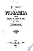 Juicio de trigamia