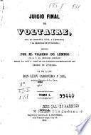 Juicio final de Voltaire