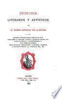 Juícios literarios y artísticos