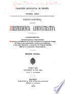 Jurisprudencia administrativa