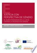 Justicia con perspectiva de género