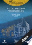Justicia de papel
