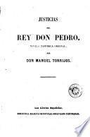 Justicias del Rey Don Pedro