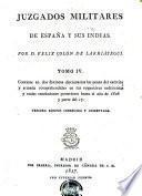 Juzgados militares de España y sus Indias. Appendice