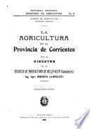 La agricultura en la provincia de Corrientes