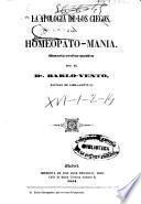 La apología de los ciegos ó la Homeopato-mania