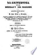 La Aritmetica de las escuelas y del comercio y el algebra mercantil