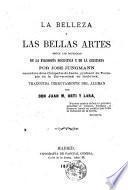 La belleza y las bellas artes según las doctrinas de la filosofía socrática y de la cristiana