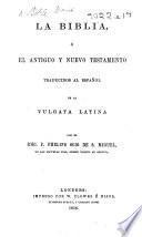 La Biblia, etc