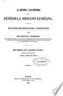 La botánica y los botánicos de la Península Hispano-Lusitana