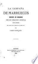 La campaña de Marruecos descrita en romances simulando operaciones aritméticas