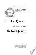 La casa de la infanta de España Doña Isabel de Borbón