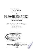 La casa de Pero-Hernandez