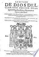 La ciudad de dios en veynte y dos libros ... Traduzidos de latin en romance por Antonio de Roys y Rocas