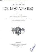 La civilazación de los Arabes