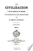 La civilizacion en los cinco primeros siglos del cristianismo