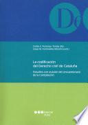 La codificación del derecho civil de Cataluña