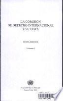 La Comisión de Derecho Internacional y su obra