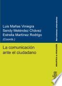 La comunicación ante el ciudadano