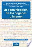 La comunicación: De los orígenes a Internet