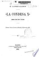 La condesa X