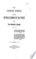 La condición jurídica de los estranjeros en el Perú