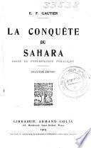 La conquête de Sahara;.