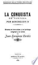 La conquista de Tortosa por Berenguer IV